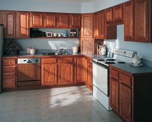 kitchen design wood cabinets